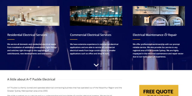 AT puckle electrical