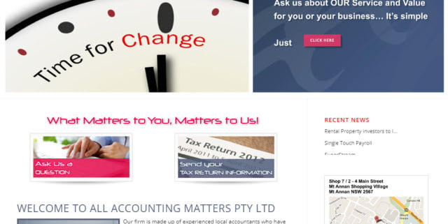 all accounting matters
