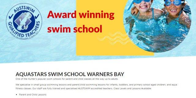 aqua stars swim school
