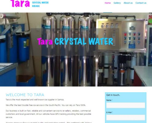 tara ice and water