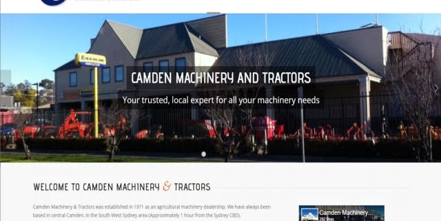 Camden Machinery and Tractors