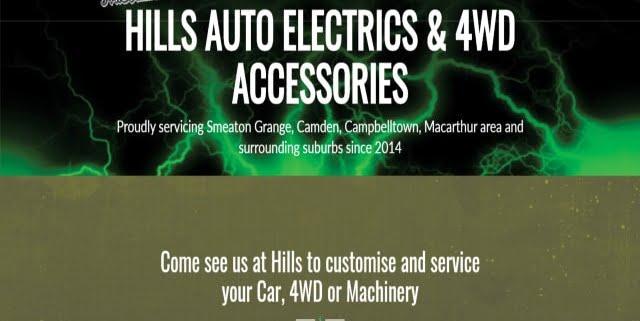 Hills Auto Electrics & 4WD Accessories